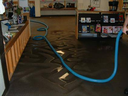 Flooding store